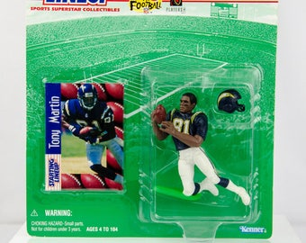 Starting Lineup 1997 NFL San Diego Chargers Tony Martin Action Figure