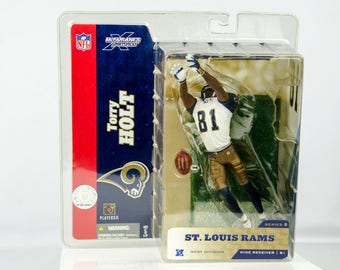 McFarlane's Sportspicks NFL Series 8 Terry Holt Action Figure St. Louis Rams