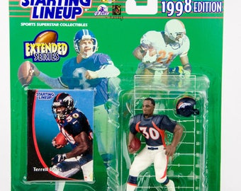Starting Lineup 1998 NFL Terrell Davis Action Figure Denver Broncos