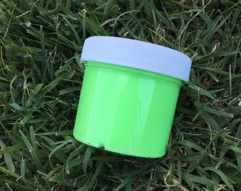 Neon Green Pop Butter