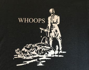 """NEW """"Whoops"""" Luxury mens Tee size Large"""