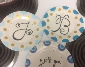 Collectible Handpainted Plates