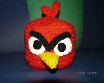 Knitted Hat Angry Birds