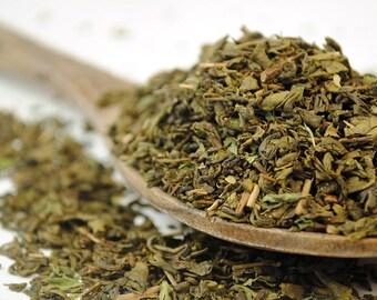 Minty Fresh Gunpowder Green Tea - Peppermint Green Tea (10g - 100g)