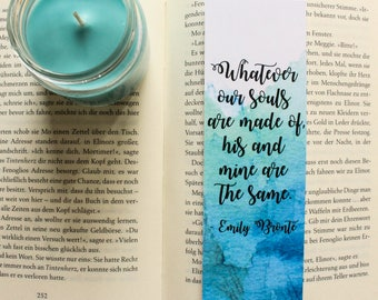 After Bookmark Emily Bronte