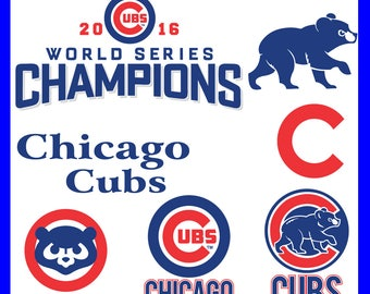 INSTANT DOWNLOAD-Chicago Cubs Svg, Chicago Cubs Svg Cameo, Chicago Cubs Cricut Files, Chicago Cubs DXF, Chicago Cubs Football Team