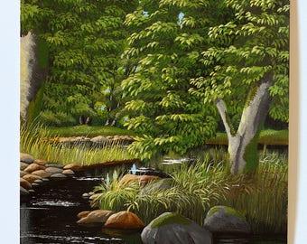 The Creek - original painting