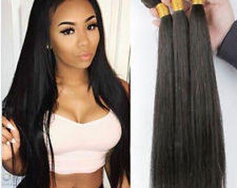 100% human hair 8a malaysian straight