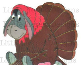 Eeyore Thanksgiving Transfer