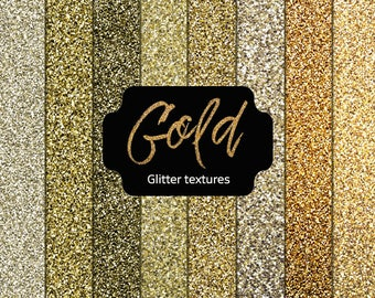 Gold Glitter Textures- gold digital papers ,gold textures gold jpg, gold paper backgrounds, gold glitter papers