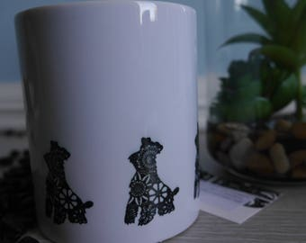 Miniature Schnauzer,  Miniature Schnauzer Mug,  Miniature Schnauzer Gifts, Gifts For Schnauzer Lovers, Dog Gifts, Gifts For Dog Lovers