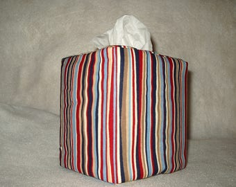Tissue box covers - Stripes