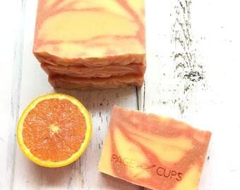 Artisan Soap - Citrus Swirl