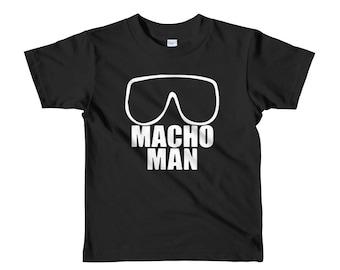 Macho Man Short sleeve kids t-shirt