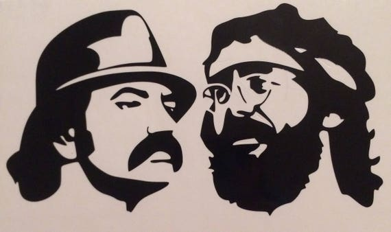 Cheech And Chong Decal
