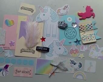 Unicorn Ephemera Package