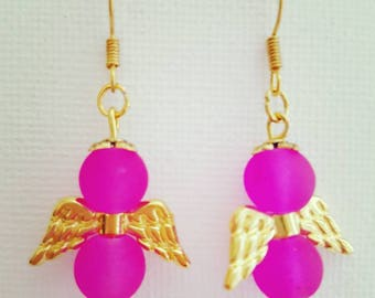 Angel earring