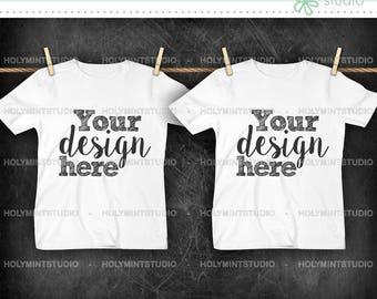 T- Shirt Mockup, Shirt , Mockup, White Shirt , T-Shirt , Children T-Shirt Mockup, Styled Photo, T-Shirt Mock Up
