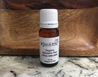 Organic Red Mandarin Essential Oil