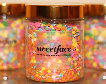 Wedding Crashers by Sweetface -  Sprinkle Mix, Cake Decorating, Edible Sprinkles, Cup Cake Sprinkles