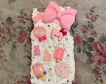 Kawaii Pink Decoden iPhone 6/6S Case