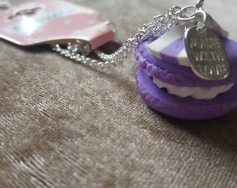 junkfood jewels purple macarons