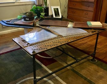 Awesome Piano Harp Coffee Table