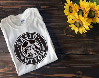 Basic Witch | Basic Witch T Shirt | Halloween T Shirt | Custom T Shirt | Create Your Own T Shirt | Custom Sayings | Graphic Tees | T Shirts