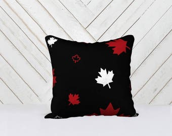 Canada Confetti Signature 150 Throw Pillow Cover