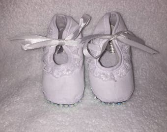 Baby Bling Baptism Shoes