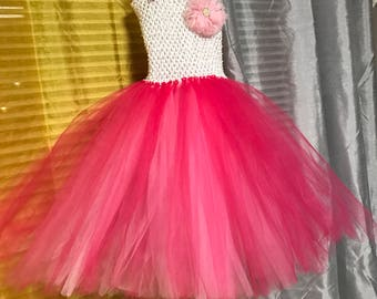 Girls tutu dress size 5-6