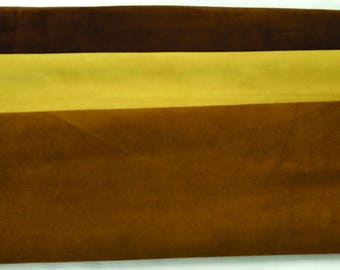 Large Soft 3 oz Cowhide Moccasin Suede Leather Hides
