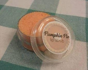 Pumpkin pie lip scrub