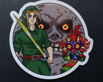 Link - Majora's Mask Magnet