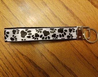 Paw print wristlet