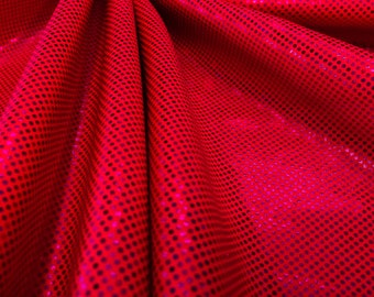 Hologram PINK   4 way Stretch Nylon Lycra Spandex fabric By Yard