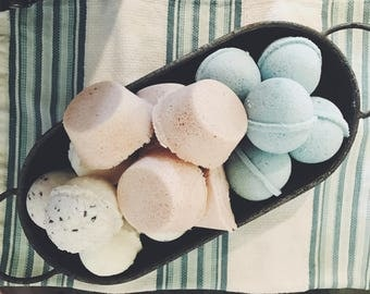 Blissful Bath Bombs/All Natural/Homemade/Relaxation