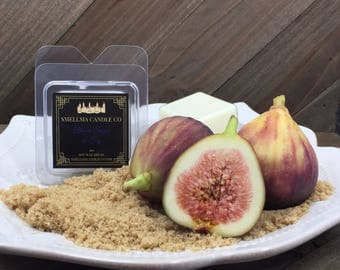 Brown Sugar and Fig Soy Wax Melts, Wax Melts, Soy Wax Melts, Soy Wax Tart, Soy Candle Melts, Wax Warmer, Scented Soy Tart Sample