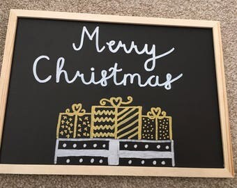 Christmas display board