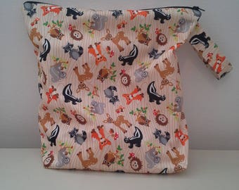 Wet/dry bag perfect for travelling with a toddler