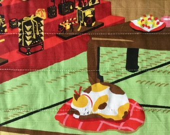 Spoil your kitty! Cozy cat mat, quilted comfy bed for your furry friend - all proceeds to local humane society