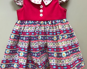 Vintage Style Pink Baby Dress