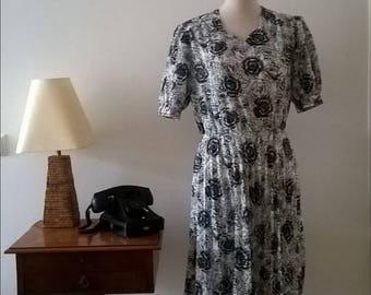 Vintage dress, Years 70.