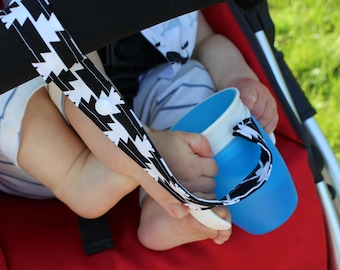 Cup Strap, Stroller Strap, Sippy Cup Strap, Cup Leash, Baby Shower Gifts