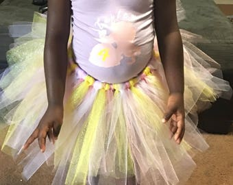 Customized leotard and tutu