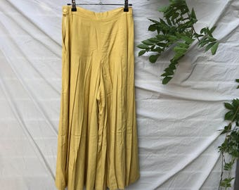 ALICE pants in mustard