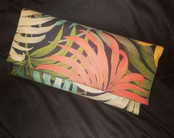 Safari Print Clutch Purse