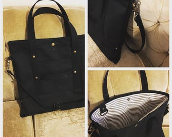 All purpose duck canvas tote