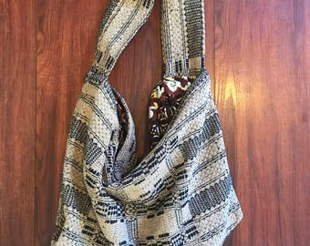 Extra large boho tote bag