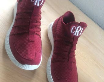 Wine and Dine Tennis Shoes WITH Monogram, Monogrammed Tennis Shoes, Monogram, Monogrammed Shoes, Personalized Shoes, Personalized